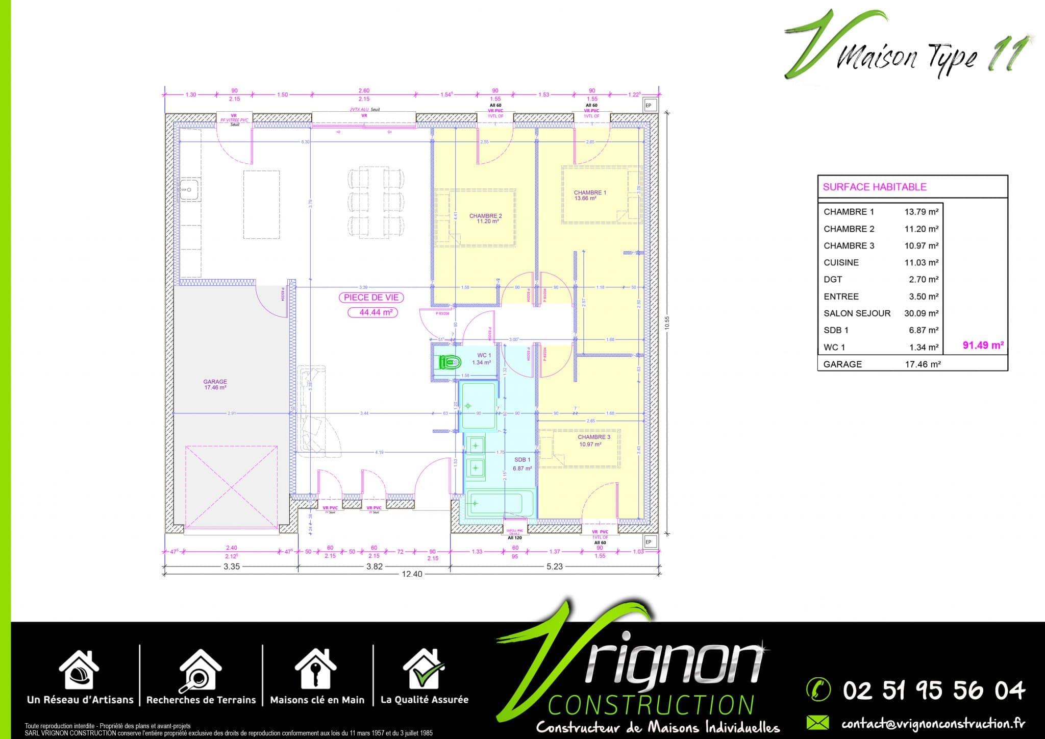 Plan La maison V11