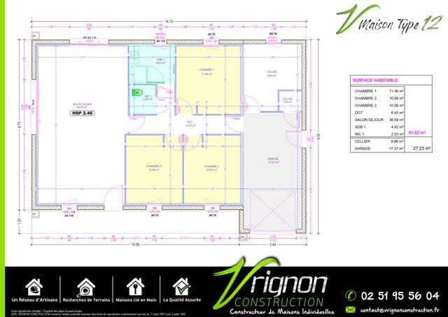 Plan La maison V12