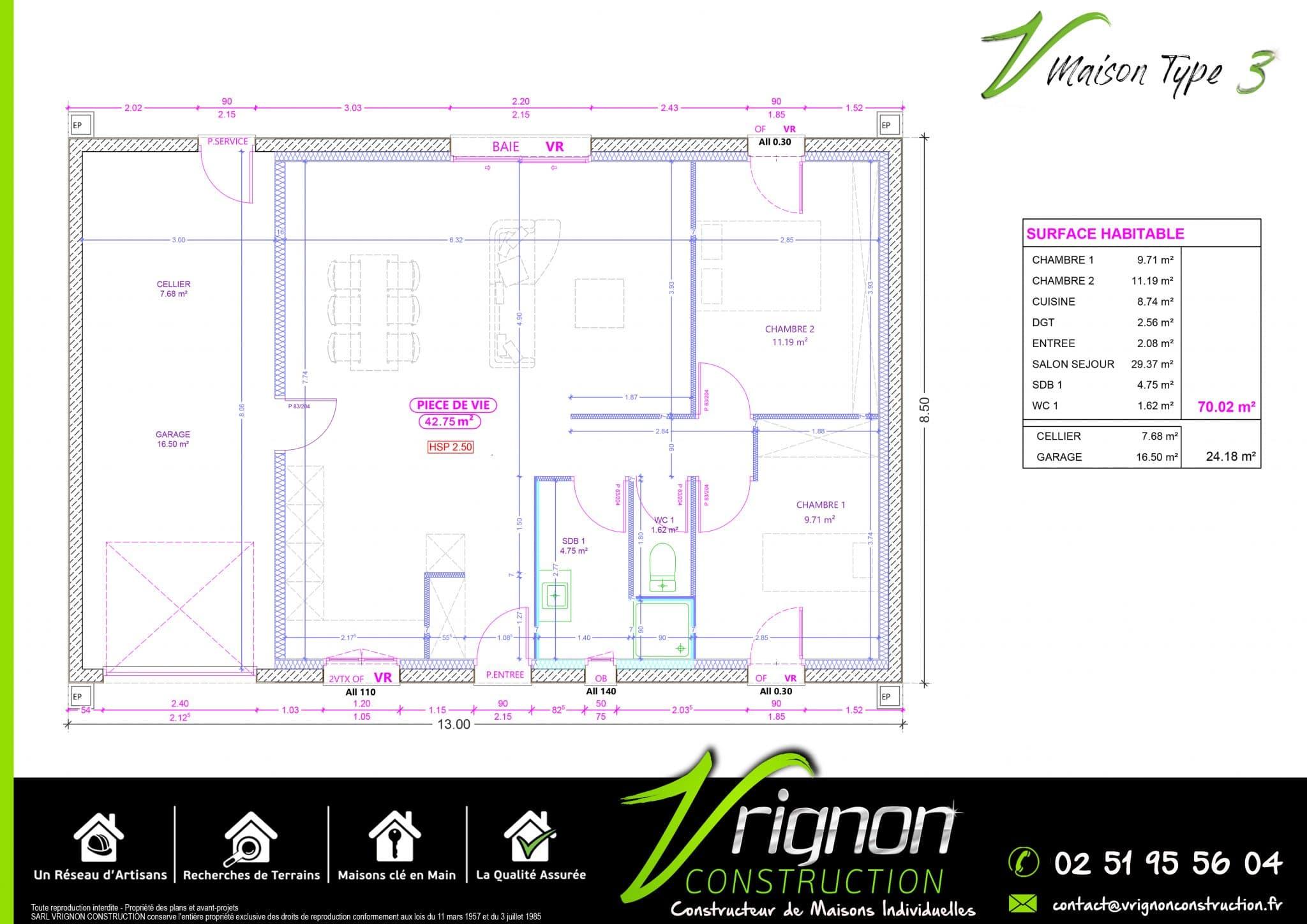 Plan La maison V3