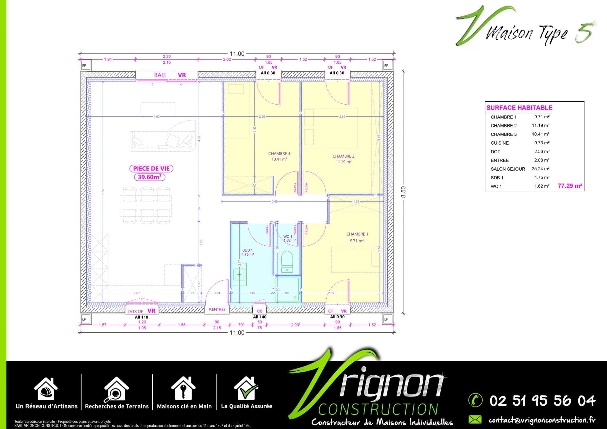 Plan La maison V5