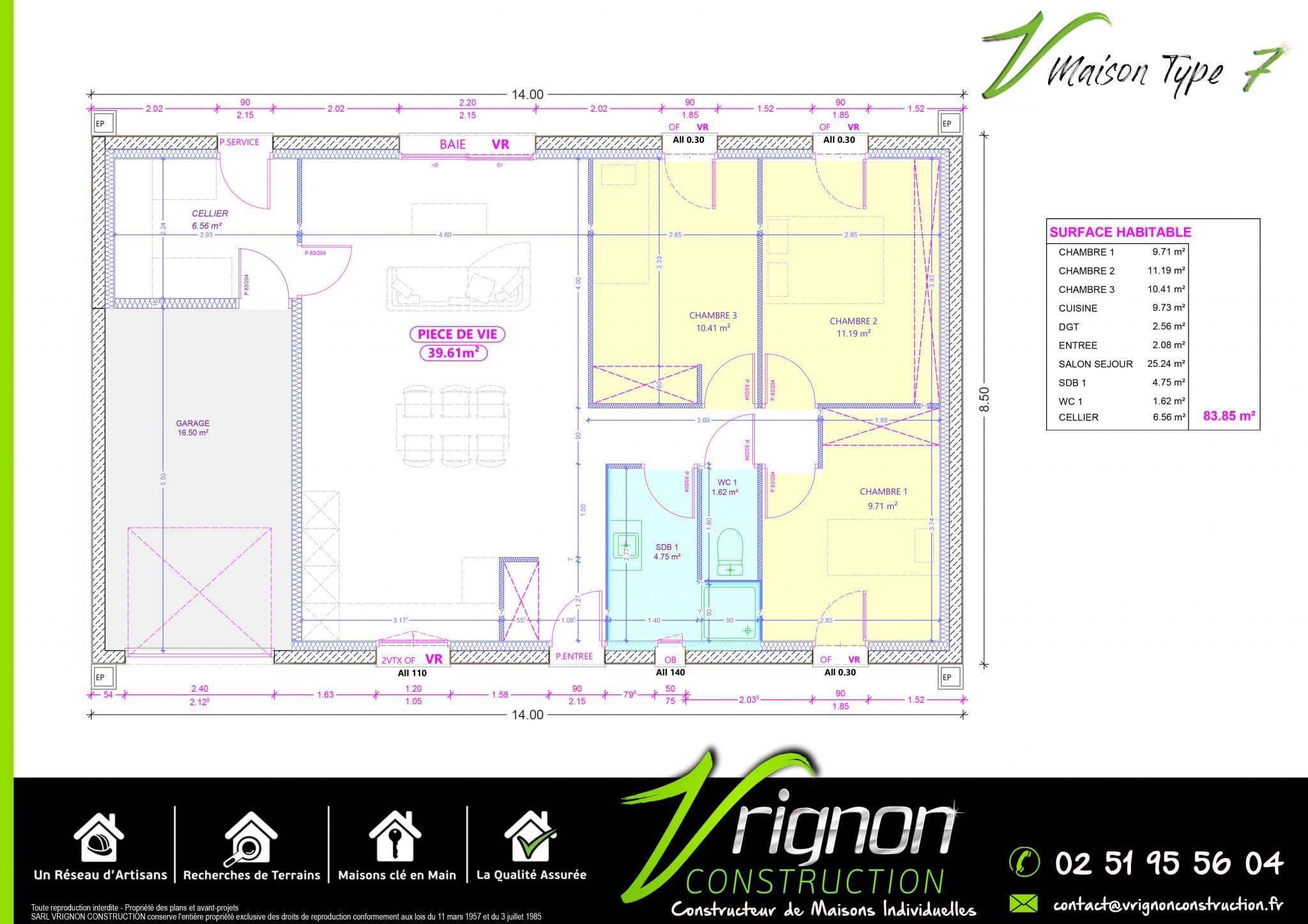 Plan La maison V7